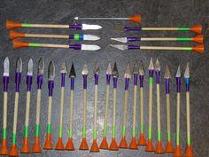 DIY Razor Tip Blowgun Darts