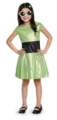 Buttercup Classic Powerpuff Girls Cartoon Network Costume