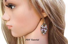 Arcos Beads Pattern Beaded EarringsTutorial Jewelry Pattern