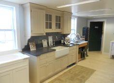 Kitchen Cabinet Display Marine Home Center - 134 Orange Street Nantucket, MA 02554