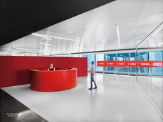 Firm: TPG Architecture. Project: WebMD Headquarters. Site: New York. Photography by Eric Laignel.