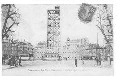 Place Castellane, L´obélisque en démolition