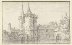 Oostpoort in Delft, Jan van Goyen, 1606 - 1656