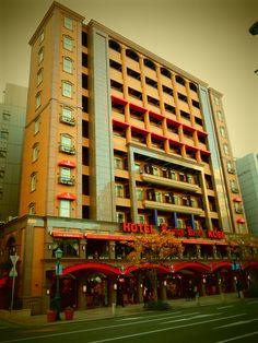Hotel in Kobe, Japan. 19nov14.