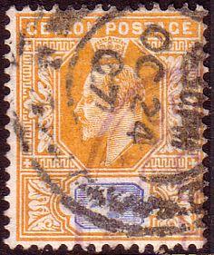 Ceylon 1904 King Edward VII Head SG 279 Fine Used SG 279 Scott 180 Other Sri Lanka Stamps Here