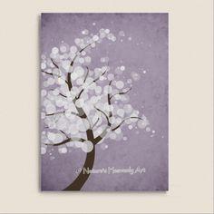 White Circle Tree Print 5 x 7 Beauty of by NaturesHeavenlyArt, $9.00
