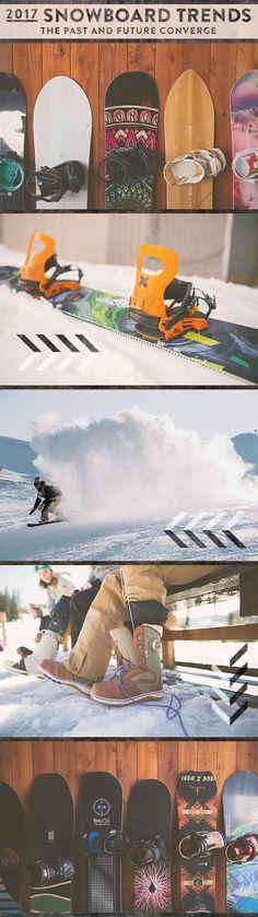 2017 Snowboard Trends