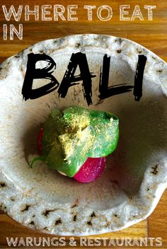 Where to eat in Bali - we've picked our favourite warungs & restaurants in Ubud, Gili Air & Seminyak *cue mouth watering* Scuba Diving Bali, Gili Air, Gili Island, Travel Tips, Travel Guides, Bali Travel, Outdoor Adventures, Ubud, Trip Planning