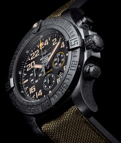 Breitling Avenger Hurricane Military Breitling Superocean Heritage, Breitling Navitimer, Breitling Watches, Top Watches For Men, Luxury Watches For Men, Cool Watches, Cool Mens Bracelets, Vintage Pocket Watch, Fashion Watches