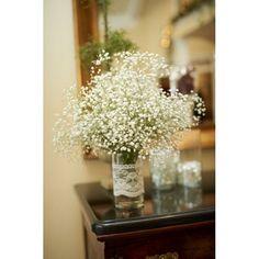 Gypsophile en vase
