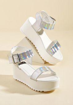 Flatform Fanatic Sandal in 7, #ModCloth