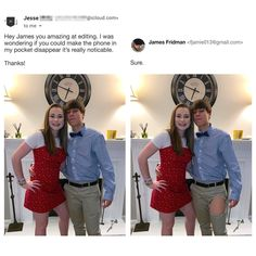 When you ask James Fridman for help you're going to get played with. Photoshop is a powerful tool; The internet is also a powerful tool, but most people who own photoshop and love the internet are gonna be troll. Here is such troll. Photomontage, Troll, Funny Photo Editing, Funny Photoshop Fails, Photoshop Pro, Photoshop Lessons, James Fridman, Funny Emails, Haha
