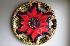 Calico+Blossom+by+bloominghubcaps+on+Etsy,+$85.00