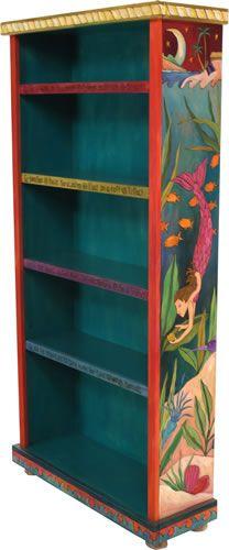Sticks furniture, mermaid bookcase
