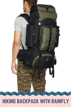 This hiking backpack is just a fantastic choice for every traveler. It provides large storage space with several storage pockets. Get this travel backpack for your regular outing. Camping Rucksack, Rucksack Backpack, Hiking Backpack, Travel Backpack, Storage Spaces, Backpacks, Pockets, Bags, Men