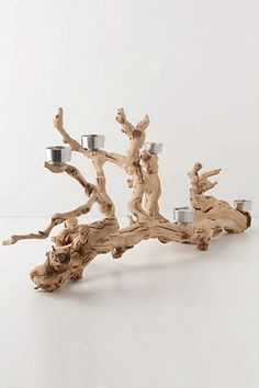 Driftwood: Perk up your space with these earthy finds.