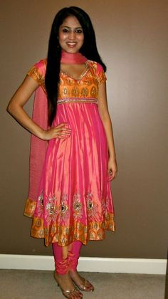 Maybe I can convert my green kanjeevaram into a dress.