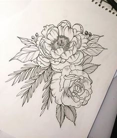 173 отметок «Нравится», 4 комментариев — Dani (@danibelleink) в Instagram: «Design day! Tomorrow morning @14arrowstattoo with @luciegrover (hope you like it!) #botanicals…»