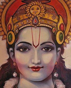 Krishna Art, Hare Krishna, Durga Maa Pictures, Sita Ram, Jai Hanuman, Hindu Art, Ganesha, Indian Art, Shiva