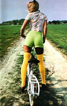 Curvy short by LOU. Marie France July 1971