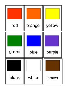 CARDS FOR KIDS: COLOR CHIPS FOR PRESCHOOL AND PRIMARY CHILDREN