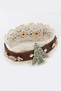 Aztec Arrow Bracelet
