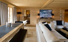 Tamara's Design Sarl - Interior Design & Décoration Villas, Chalet Style, Wood Interiors, Contemporary Interior, Interiores Design, Decor Interior Design, Architecture, Earthy, Living Rooms