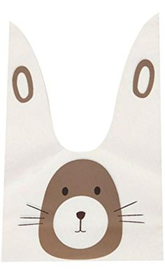 Food bag - SODIAL(R)20pcs/lot cute rabbit ear cookie bags Self-adhesive Plastic Bags for Biscuits Snack Baking Package food bag£¨mouse£ Best Price