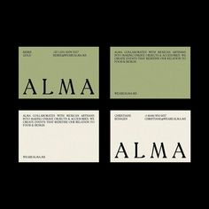 Alma by @elfugitivodealcatraz today on Visual Journal - #branding #identity #logo #graphicdesign #design #minimalism #mark #logotype…