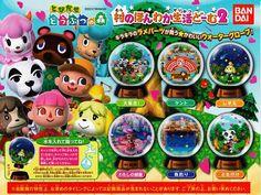 Animal Crossing New Leaf water globes