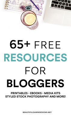 Over 65 free resources for bloggers. This list includes free ebooks, free printables, free WordPress themes, free styled stock photography and more! #blogging #bloggingtips #freebies #blogfreebies