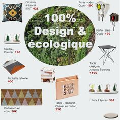 100% design et écologique avec Les Esthètes www.les-esthetes.com
