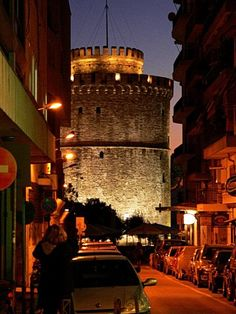 Thessaloniki,Greece - one remaining jewel Byzantium, and one of the most underrated cities of Europe - it is a treasure trove of Byzantine architecture and a whole lot more - fun and friendly as well Mykonos, Santorini, Travel Around The World, Around The Worlds, Byzantine Architecture, Greek Beauty, Greek Isles, Byzantine Art, Paros