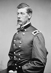 Alexander Shaler (Mar 19,1827– Dec 28,1911) was a Union Army general in the American Civil War. He received the United States military's highest decoration, the Medal of Honor, for his actions at the Second Battle of Fredericksburg. After the war, he was at various times the head of the New York City Fire Department, president of the National Rifle Association, and Mayor of Ridgefield, New Jersey from 1899 to 1901.