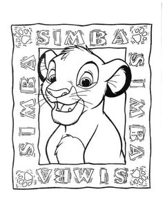 The Lion King Online Coloring PagesColoring