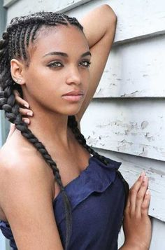 Peachy Black Girl Braids Style And Updo On Pinterest Hairstyle Inspiration Daily Dogsangcom
