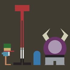 Minimalist Foster's Home for Imaginary Friends