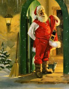 Tom Browning It Feels Like Christmas Art Print Poster Mini Poster