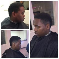 @thenextbarber_king Before and After. iCape in use.  #iCape #barber #barbershop #hairstylist #salon