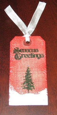 Tim Holtz's 12 Tags of Christmas