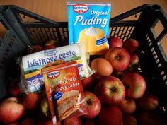 Jablkové taštičky z lístkového cesta (fotorecept) - obrázok 1