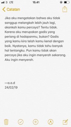 Quotes Rindu, Hot Quotes, Story Quotes, Tumblr Quotes, People Quotes, Motivational Quotes, Life Quotes, Jodoh Quotes, Quotes Galau