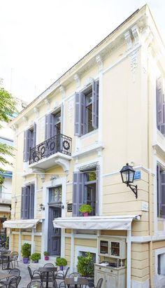 Bauhaus, Neoclassical Architecture, Pondicherry, Art Deco, Wonderful Places, My Athens, Palazzo, Home Goods, Greece