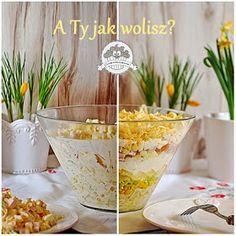 Ooomnomnomnom !: Świąteczna sałatka warstwowa z ananasem Cereal, Food And Drink, Menu, Yummy Food, Drinks, Cooking, Breakfast, Recipes, Pineapple