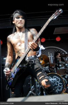 black veil brides ashley | Black Veil Brides Ashley Purdy