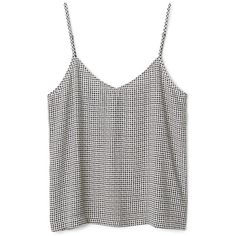 Slip Top ❤ liked on Polyvore featuring tops, shirts, t-shirts, tank tops, shirt tank, henley shirt, v neck tank, strappy tank and strappy tank top