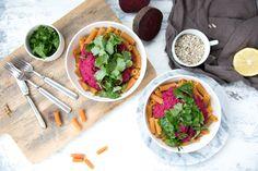 vegan-beetroot-pesto-with-gluten-free-chickpea-pasta_