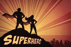 Superheros in a sunset Superhero Pictures, Superhero Poster, Roaring Lion, Love Warriors, Dream Chaser, Building An Empire, Door Design, Graphic Design, History