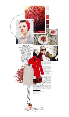 """""""red in fall"""" by summerbreeze85 ❤ liked on Polyvore"""