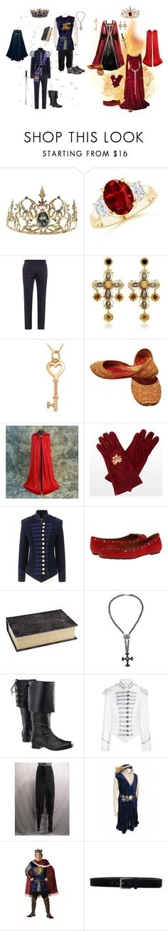 """The King of Ice and the Queen of Fire"" by conquistadorofsorts ❤ liked on Polyvore featuring Bottega Veneta, Dolce&Gabbana, Tiffany & Co., Pinky Laing, Marc by Marc Jacobs, Pier 1 Imports, S.W.O.R.D., Elite and Class Roberto Cavalli"